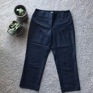 Like new dressy jean capris